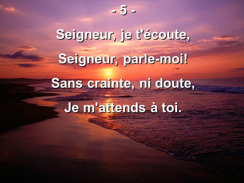 517 – Je chanterai ton grand amour - Toujours, toujours Nous chanterons ton grand amour.