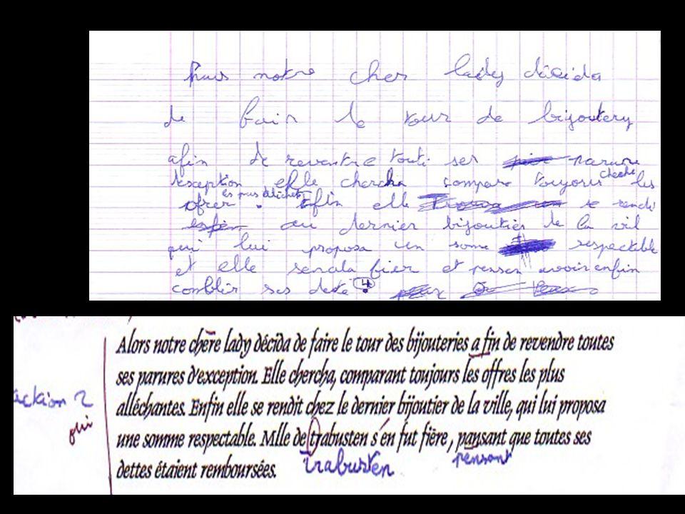 Exemple de dictée Réalisée avec Dragon Voice Élève de 6 ème SEGPA