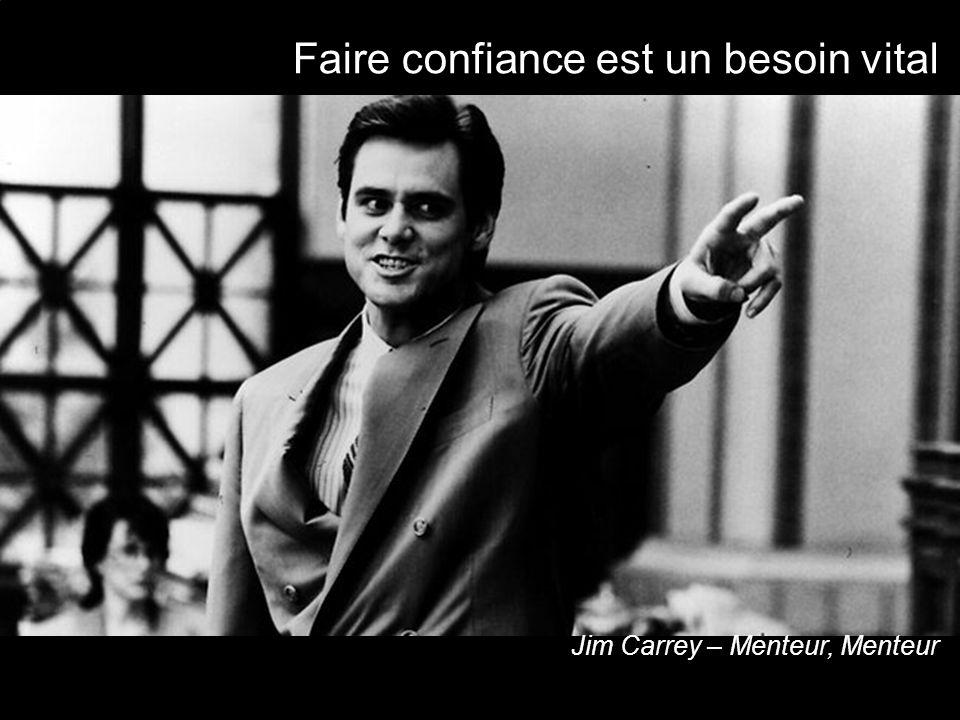Faire confiance est un besoin vital Jim Carrey – Menteur, Menteur