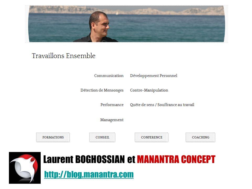 http://blog.manantra.com Laurent BOGHOSSIAN et MANANTRA CONCEPT