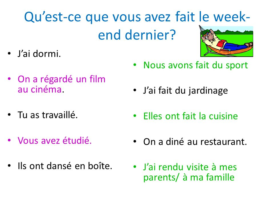 Comment former limparfait Choose Any Verb: Finir Conjugate it with NOUS : Finissons Take off the -ons.