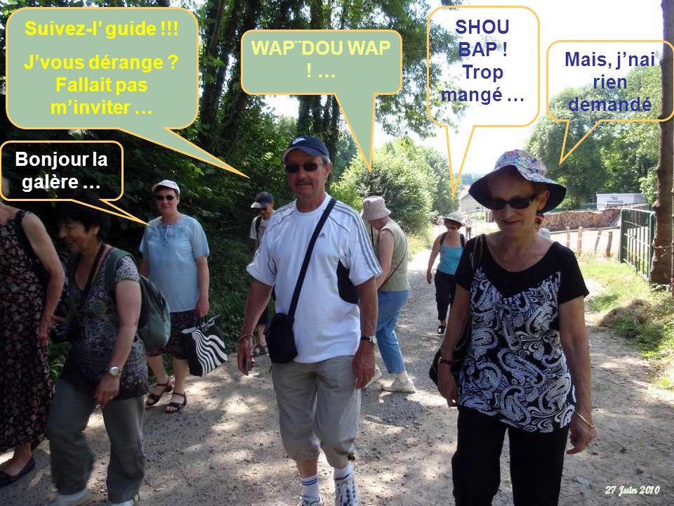 Jte dérange, fallait pas mprovoquer … Jsuis pas vnue te chercher … Direction : les pelouses calcaires de MONTENACH