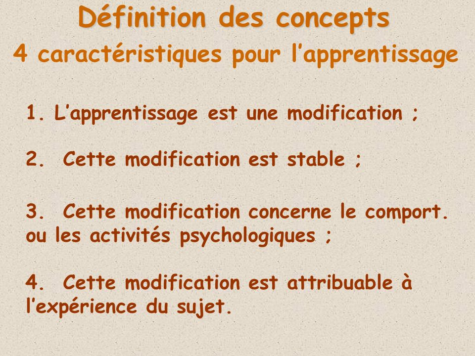 Importance de la répétition dans une perspective écologique S.Cornu, C.Marsault (2003) : « Pour les écologistes, la perception nécessite laction, ce qui suppose quil soit difficile dapprendre sans agir ».