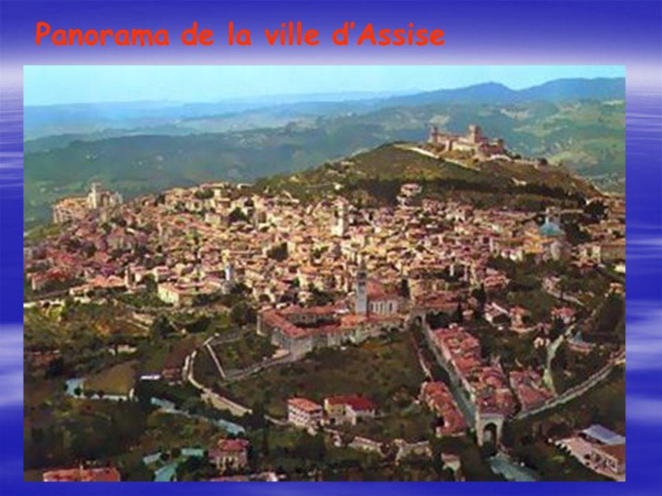 Panorama de la ville dAssise