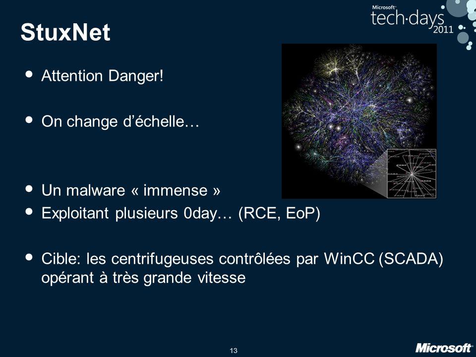 13 StuxNet Attention Danger.