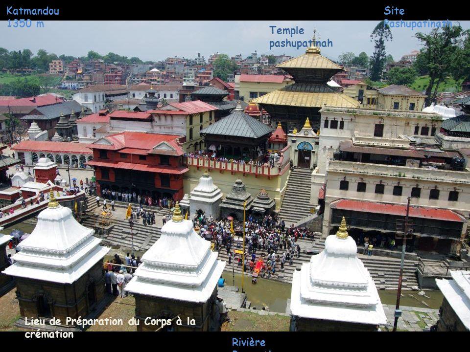 Katmandou 1350 m Site Pashupatinath sadhu s