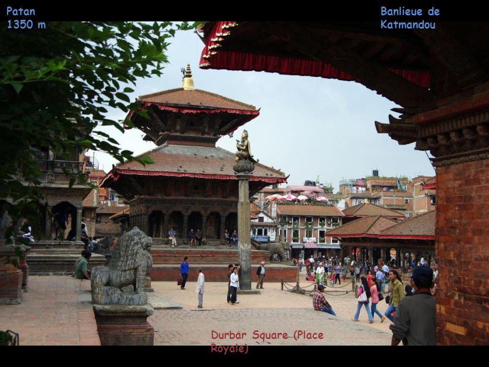 Patan 1350 m Banlieue de Katmandou Palais Royal