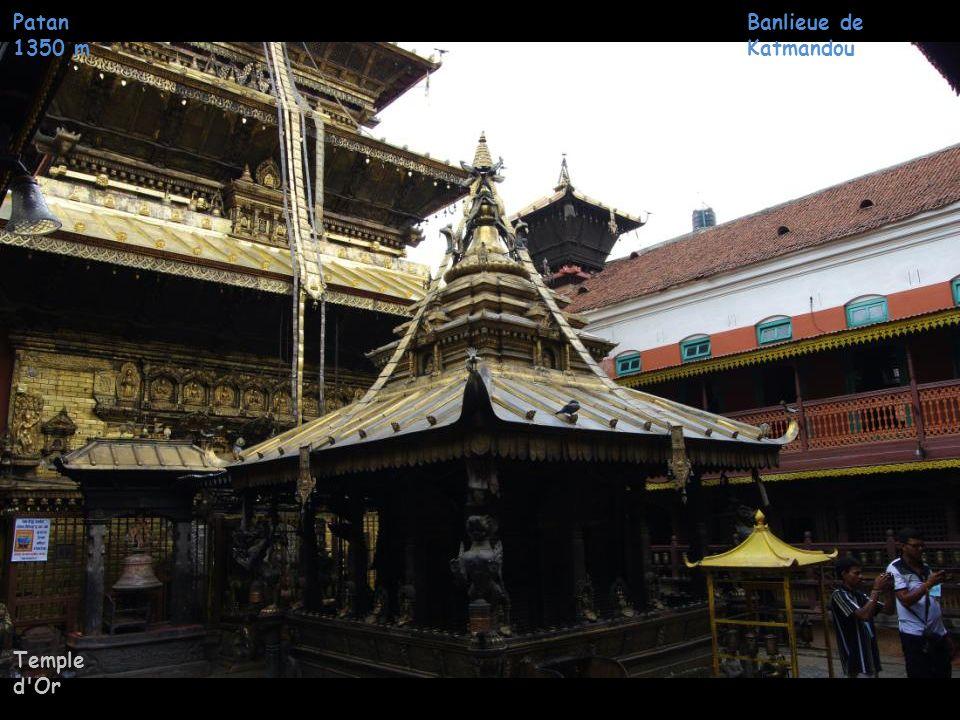 Patan 1350 m Temple d Or