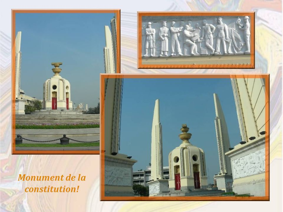 Monument de la constitution!