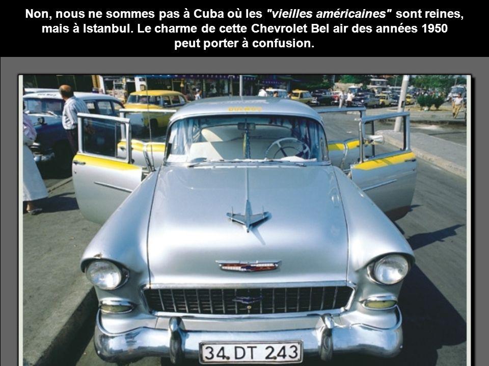 Non, nous ne sommes pas à Cuba où les