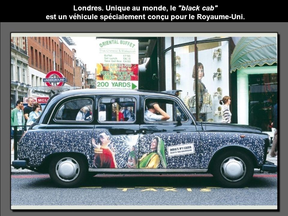 Londres. Unique au monde, le