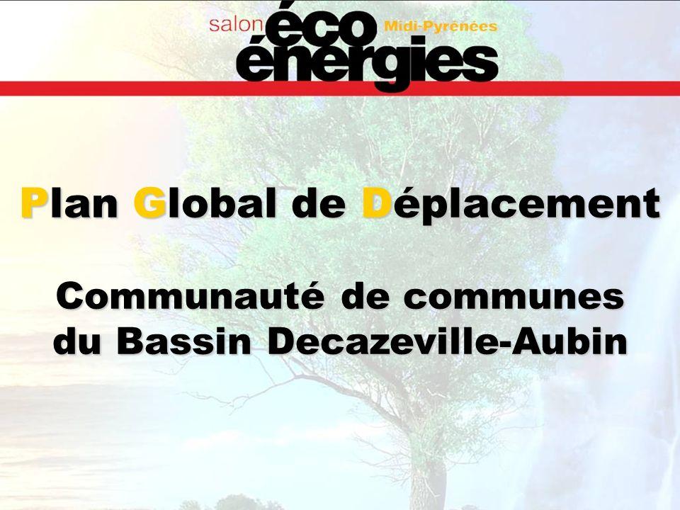 Plan Global de Déplacement Communauté de communes du Bassin Decazeville-Aubin