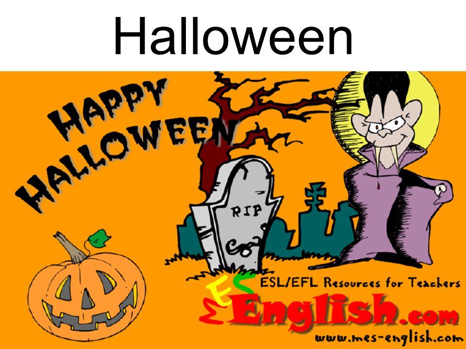 Halloween a lieu dans la nuit du 31 octobre.
