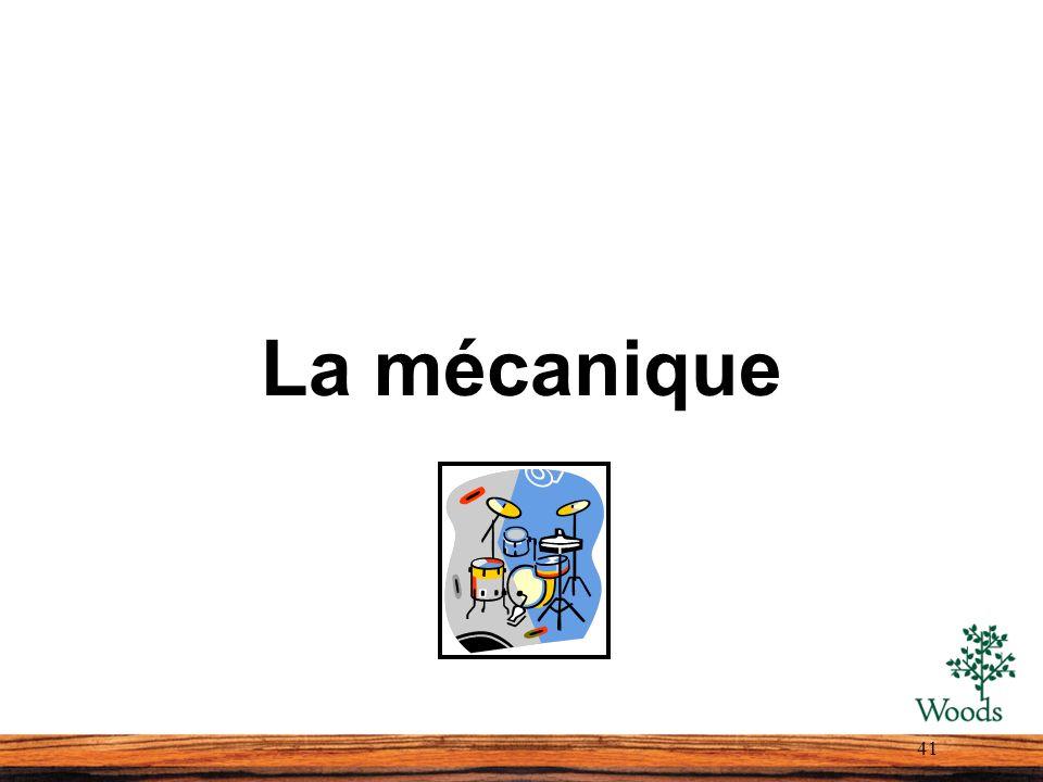 La mécanique 41