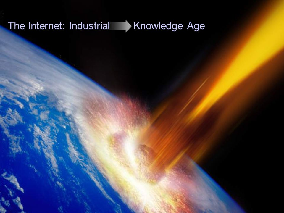 118 The Internet: Industrial Knowledge Age