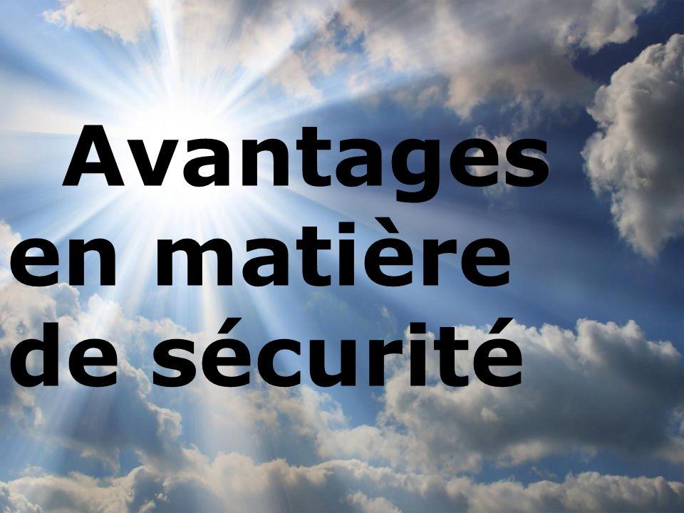 www.enisa.europa. eu Click to edit Master subtitle style 4 Avantages en matière de sécurité
