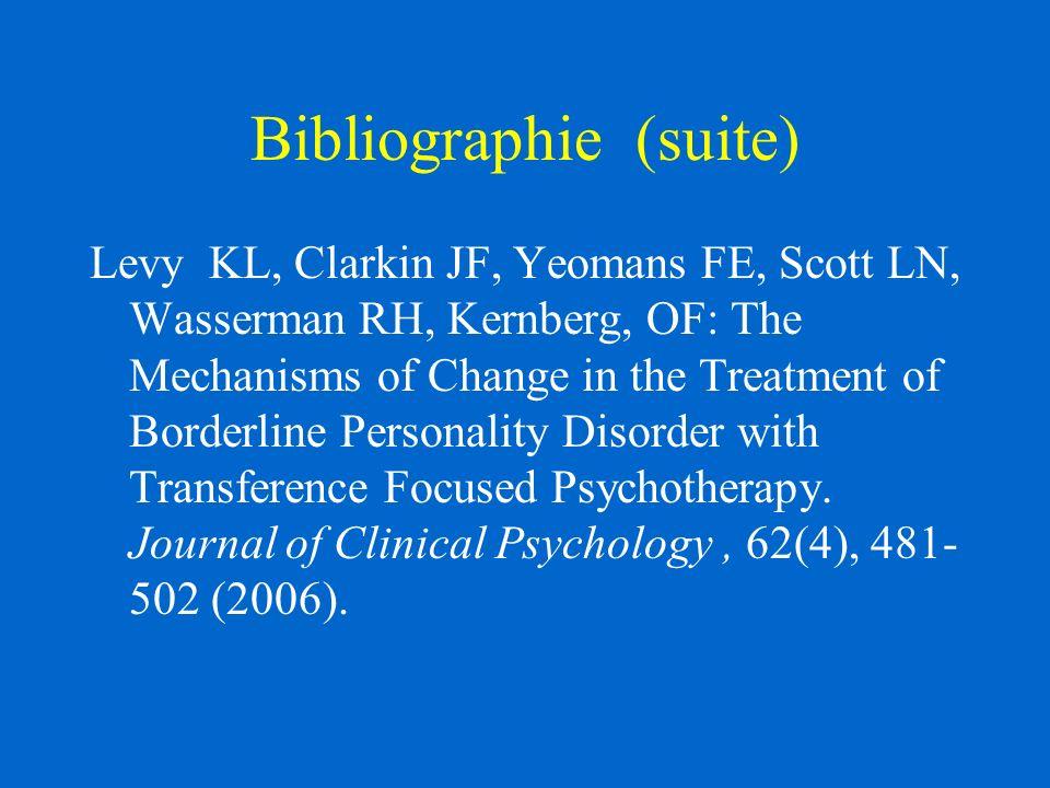 Spectre des interventions Supportive/empathique Clarification et élaboration: Identification & expression des affects approp.