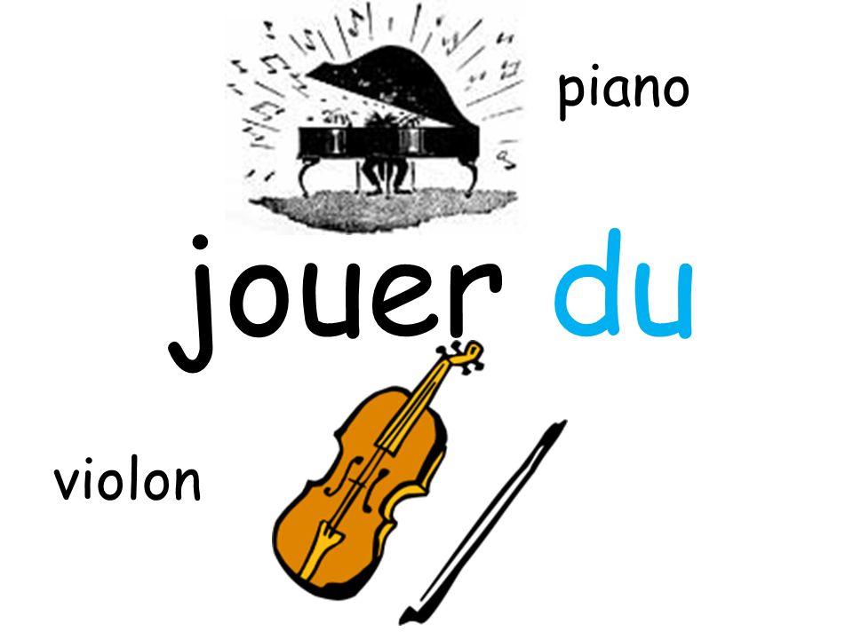 jouer du piano violon