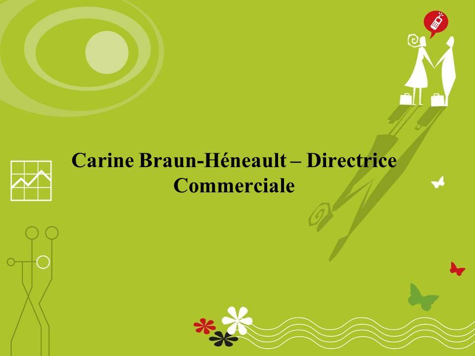 Carine Braun-Héneault – Directrice Commerciale