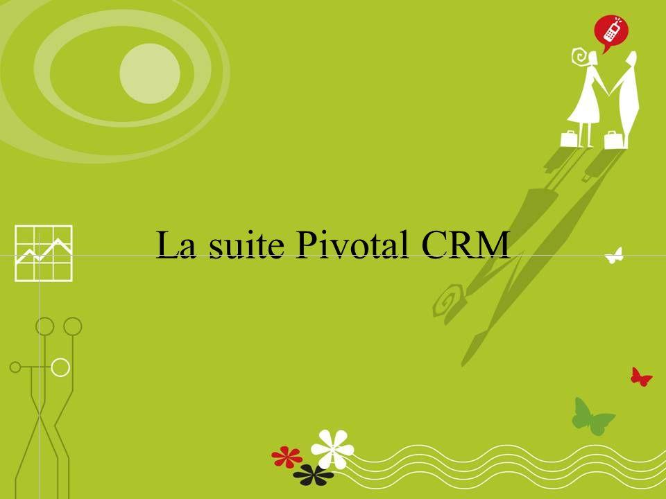 La suite Pivotal CRM
