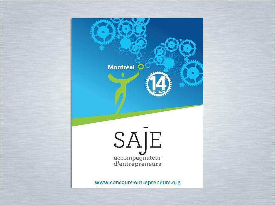 Montréal www.concours-entrepreneurs.org Montréal