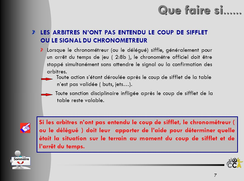 EVOLUTION DU DOCUMENT 38 V403/10/10Gestes de larbitres – Sanctions - AnimationsOC V327/07/10Mise à jour règles 2010BD-OC V206/07/10Modification = charte 9RM V129/06/10Création sur charte 8RM VersionDateModificationsNom