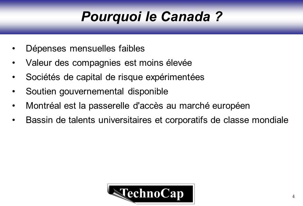4 Pourquoi le Canada .