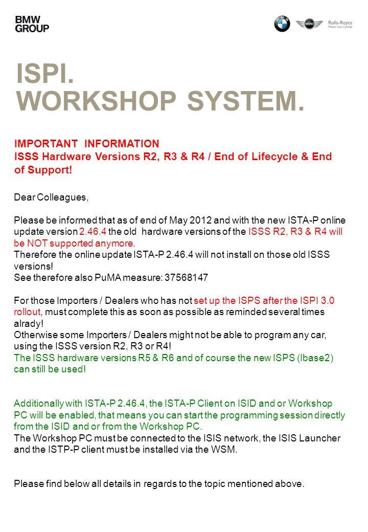 ISPI.WORKSHOP SYSTEM.