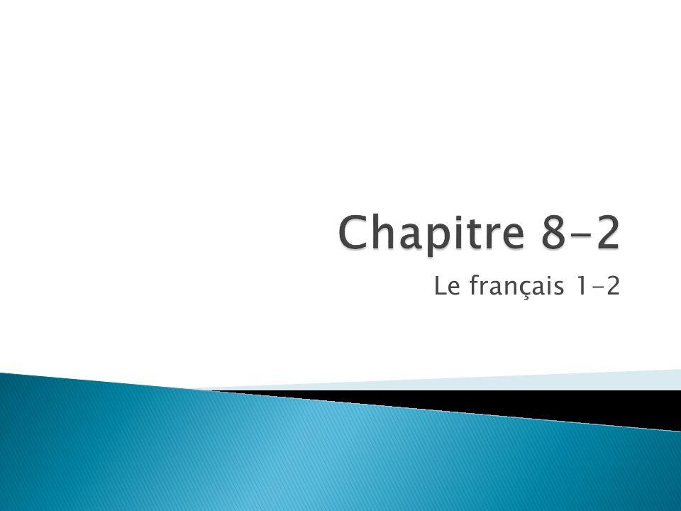Le français 1-2