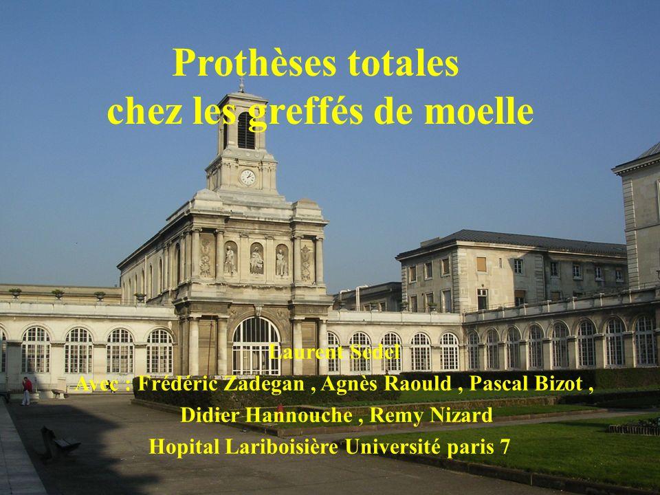 Institut Marcel Kerboull 3/02/06 Types de prothèses : tige Cimentées 60 Sans ciment : 29 Couple alumine/alumine : 89