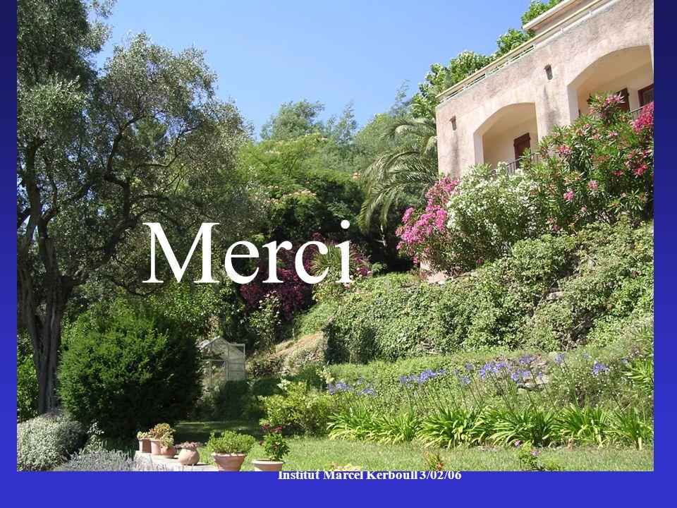 Institut Marcel Kerboull 3/02/06 Merci