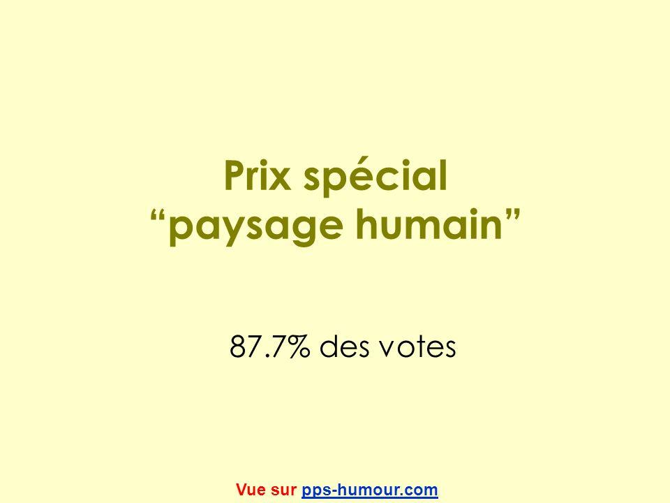 Prix spécial paysage humain 87.7% des votes Vue sur pps-humour.compps-humour.com