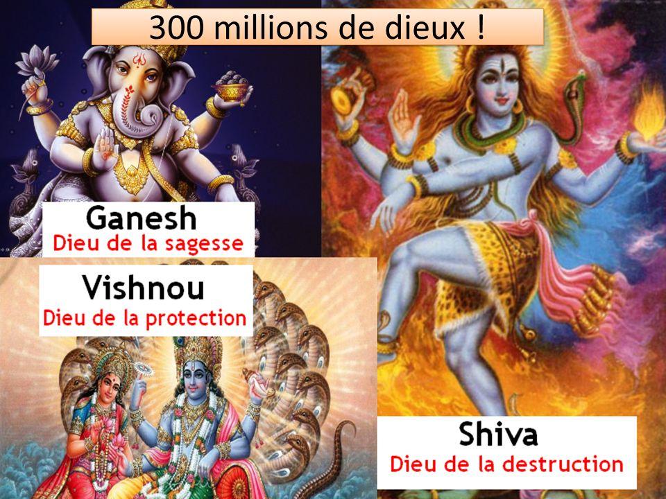 300 millions de dieux !