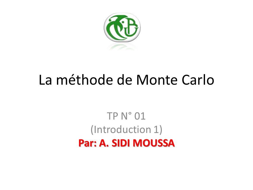 Cest quoi une simulation de Monte Carlo .