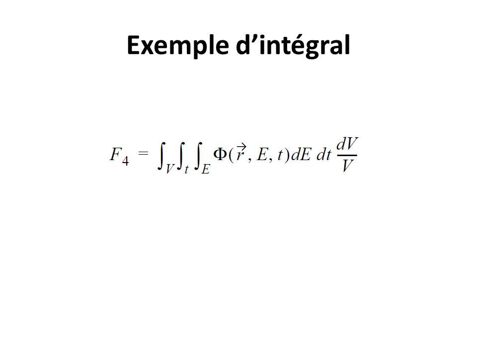 Exemple dintégral
