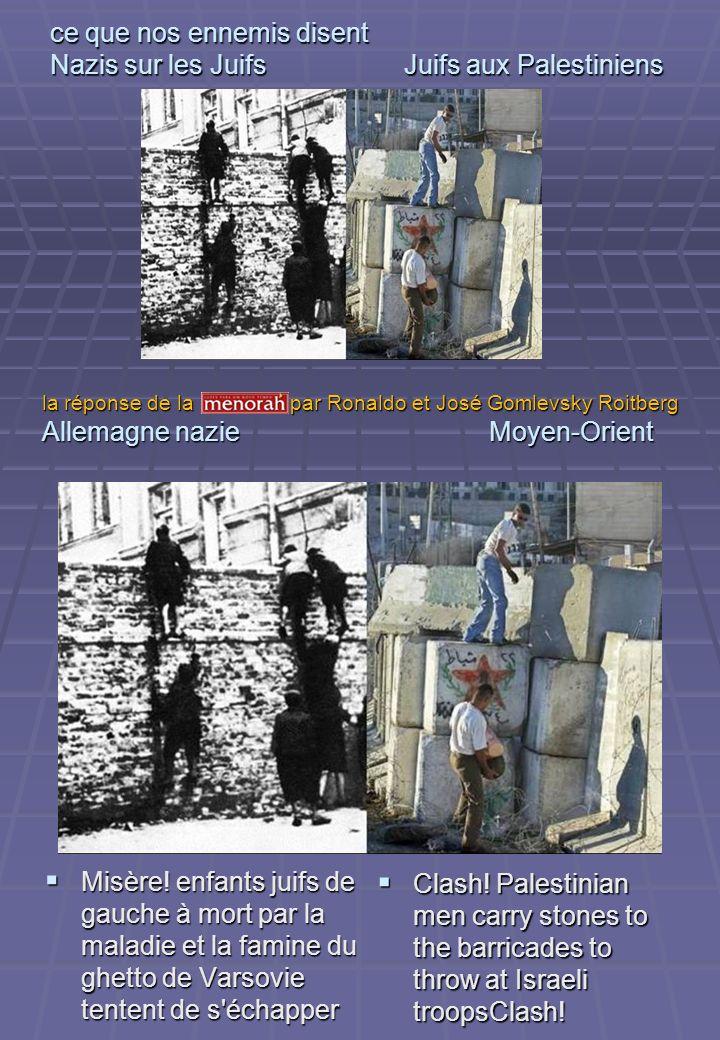 Nazis aos Judeus Judeus aos Palestinos Manipulation.