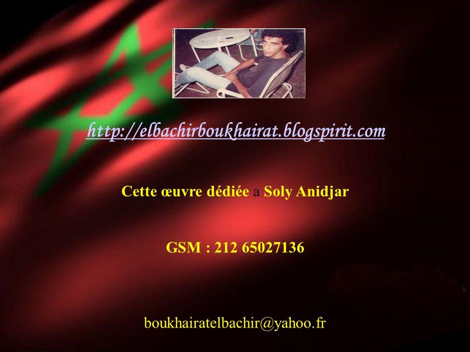 El Bachir BouKhairat boukhairatelbachir@yahoo.fr http://elbachirboukhairat.blogspirit.com