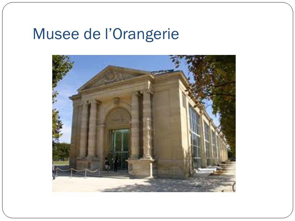 Musee de lOrangerie