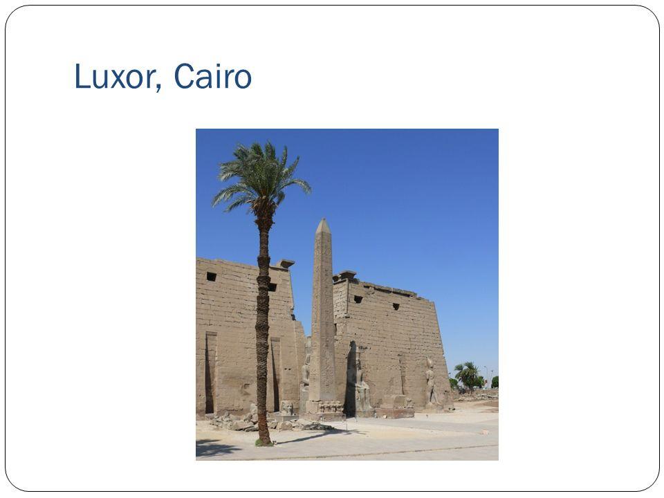 Luxor, Cairo