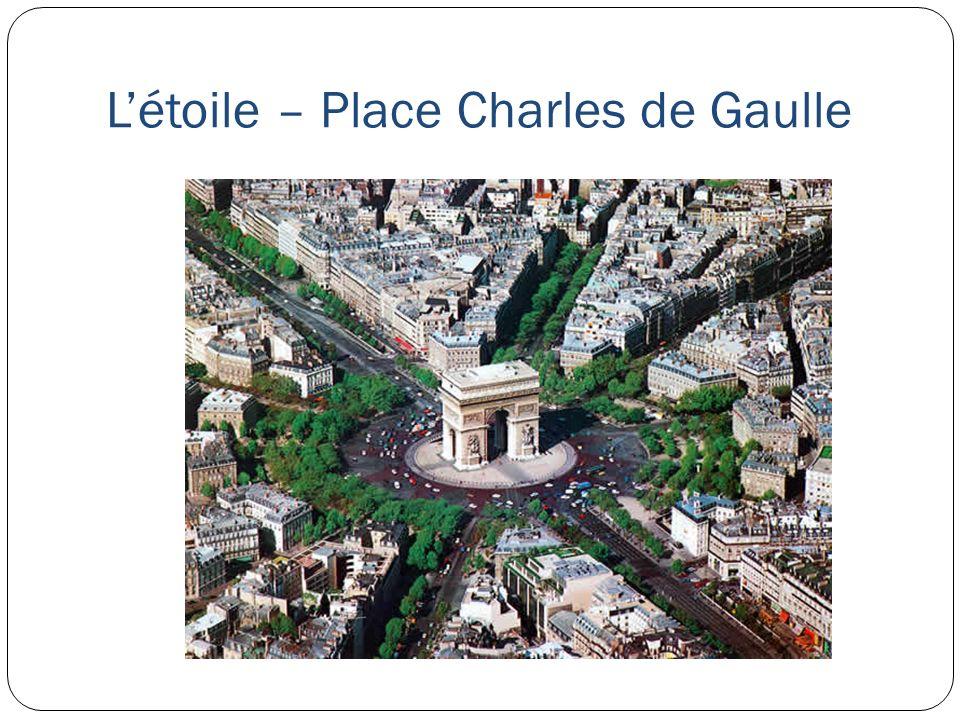 Létoile – Place Charles de Gaulle