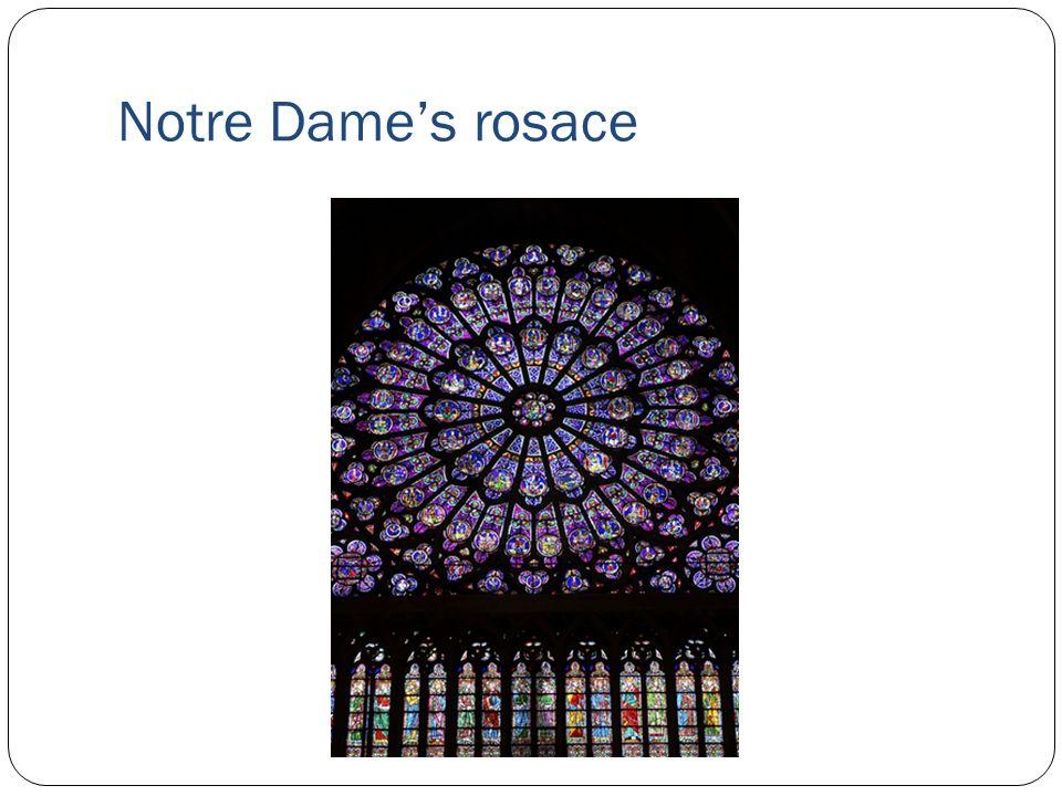 Notre Dames rosace