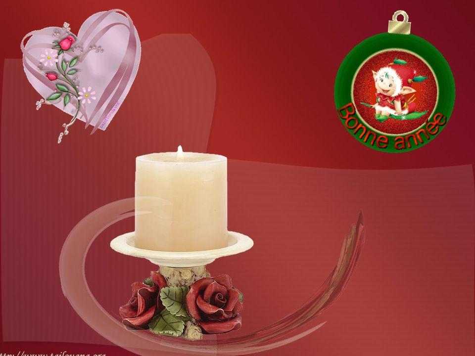 Et pourquoi pas Bonne Année à toute la terre À ceux que je ne connais pas, je vous souffle de l Amour.