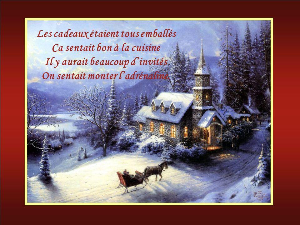 Encore un jour et ce serait Noël On le préparait depuis longtemps Cétait aujourdhui la veille On revivait les jours dantan.