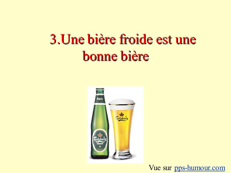 4.On peut consommer plusieurs bières à la fois sans risquer de complications Vue sur pps-humour.compps-humour.com