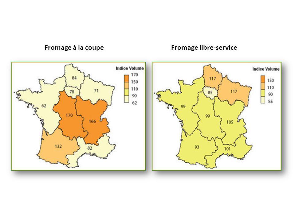Fromage libre-serviceFromage à la coupe