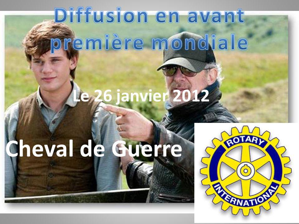 Le 26 janvier 2012 Cheval de Guerre.