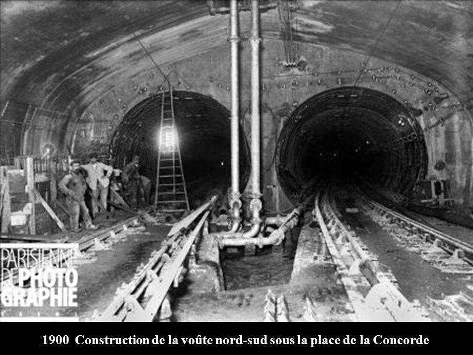 1899 Congélation artificielle de la Seine pour creusement et enfouissement dun caisson