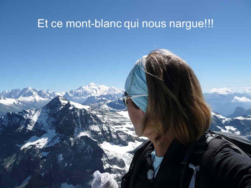 Ca y est : un beau 360° nous attend au sommet : quel spectacle!!