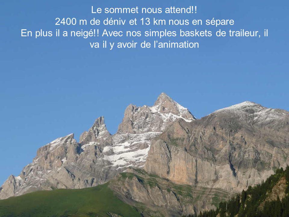 Un vélogessien à la montagne Mission : Haute Cime 3260m Camp de base Aujourdhui le maillot restera pendu !.
