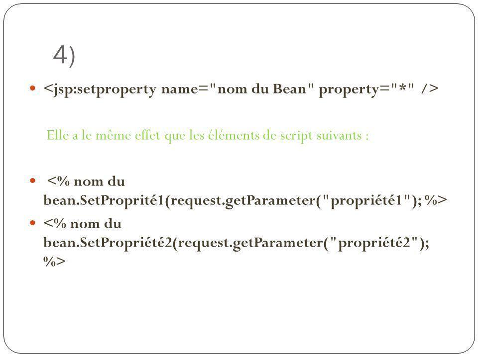 4) Elle a le même effet que les éléments de script suivants :